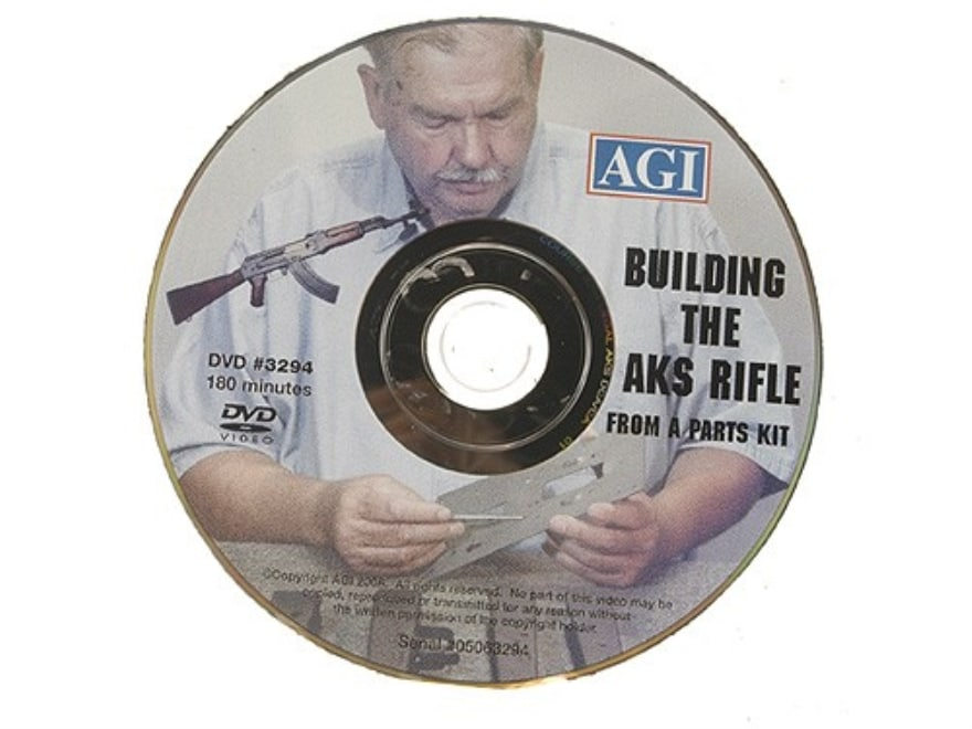 """American Gunsmithing Institute (AGI) Video """"Building the Legal AKS Rifle from a Parts K..."""