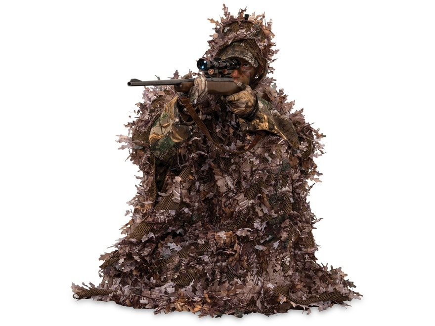 Ameristep 3-D Lightweight Poncho Polyester Realtree XTRA Camo