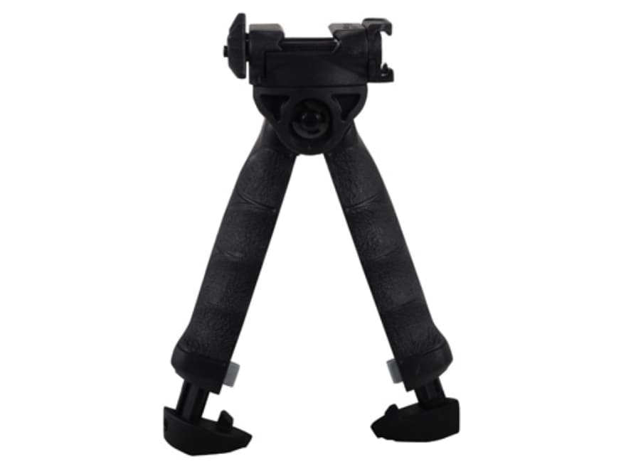 FAB Defense T-Pod Vertical Forend Grip With Rotating Bipod Polymer Black