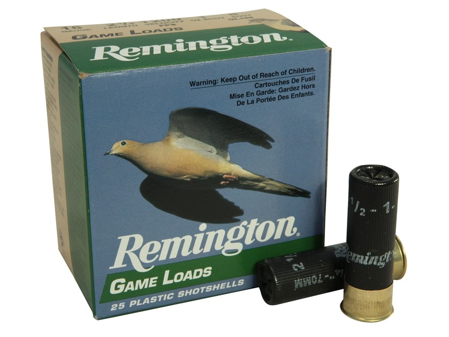 "Remington Game Load Ammunition 16 Gauge 2-3/4"" 1 oz #8 Shot Box of 25"