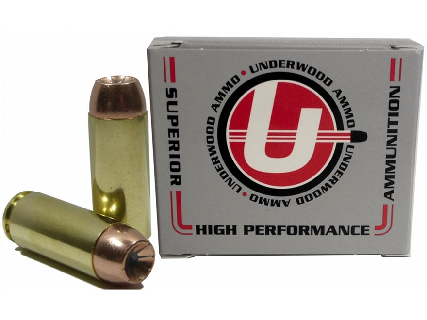Underwood Ammunition 50 Action Express 300 Grain Bonded Jacketed Hollow Point Box of 20