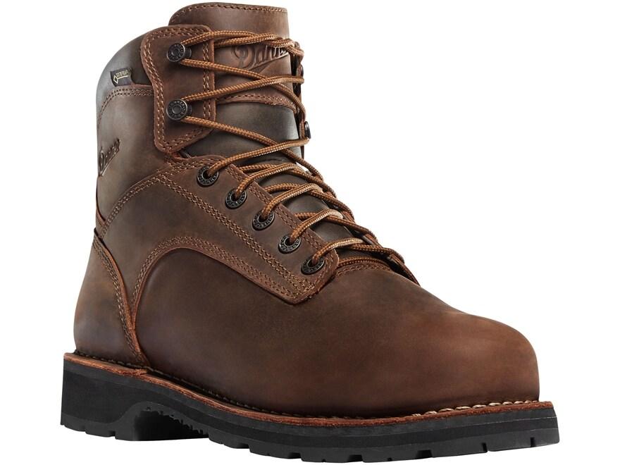 "Danner Workman 6"" Waterproof GORE-TEX Aluminum Safety Toe Work Boots Leather Men's"