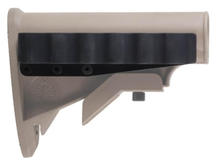Mesa Tactical Sureshell Shotshell Ammunition Carrier 12 Gauge M4 Stock Aluminum Matte