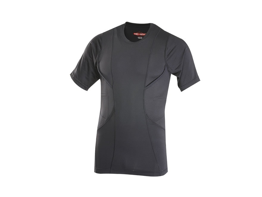 Tru-Spec 24-7 Concealed Holster T-Shirt Short Sleeve Polyester and Spandex