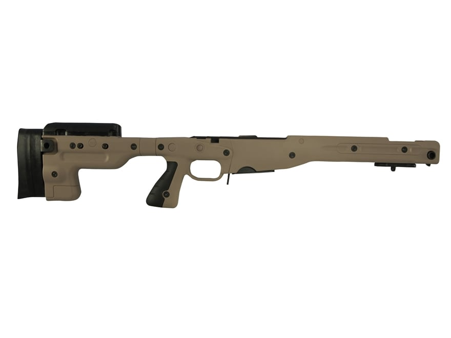 Accuracy International Chassis System AT AICS Stage 1.5 Adjustable Stock 5-Round Magazine