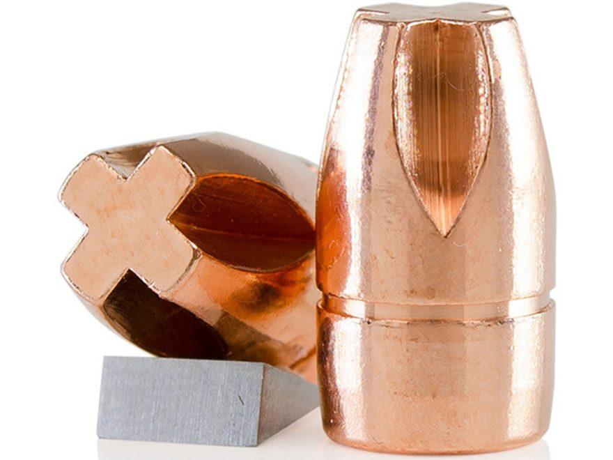 Lehigh Defense Xtreme Penetrator Bullets 9mm (355 Diameter) 115 Grain Solid Copper Flui...