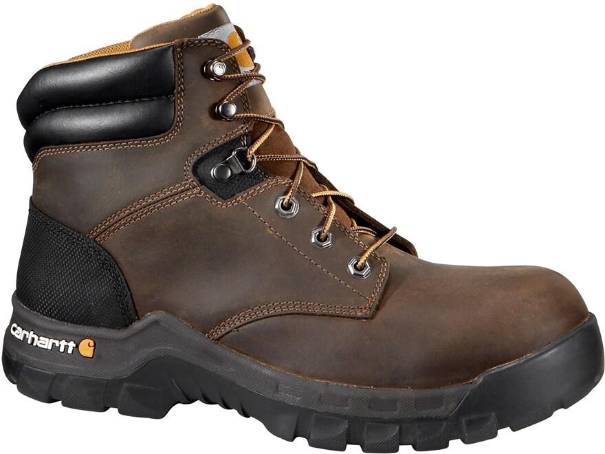 "Carhartt Rugged Flex 6"" Work Boots Leather Men's"
