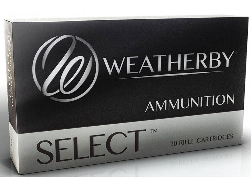 Weatherby Select Ammunition 300 Weatherby Magnum 180 Grain Norma Spitzer Box of 20