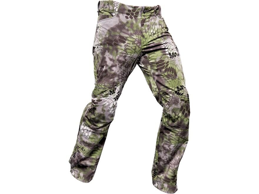 Kryptek Altitude Men's Bora Softshell Windproof Pants Synthetic Blend