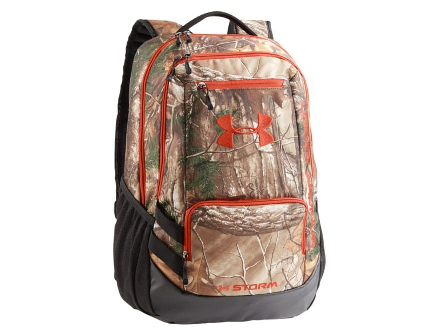 Under Armour UA Hustle Backpack Polyester Realtree Xtra Camo