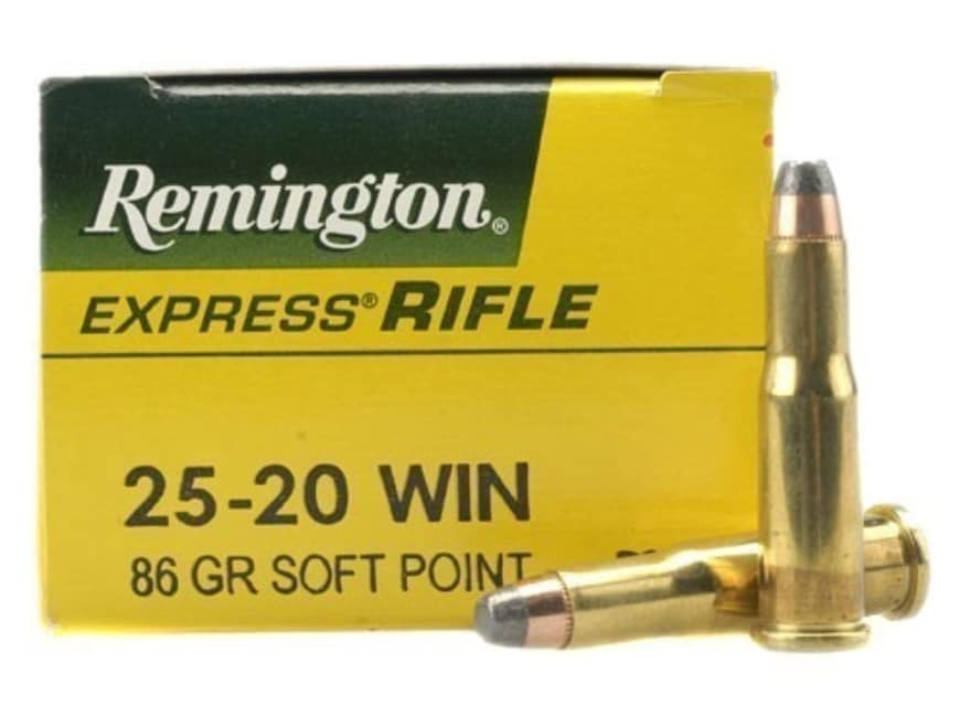 Remington Express Ammunition 25-20 WCF 86 Grain Soft Point Box of 50
