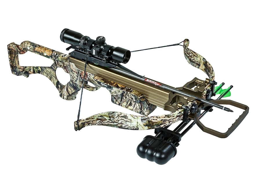 Excalibur Micro 308Short Crossbow Package with Dead Zone Scope Mossy Oak Break Up Count...