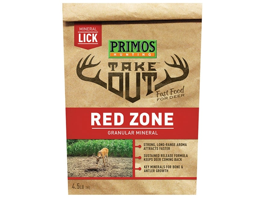 Primos Take Out Redzone Deer Attractant 4.5 lb Bag