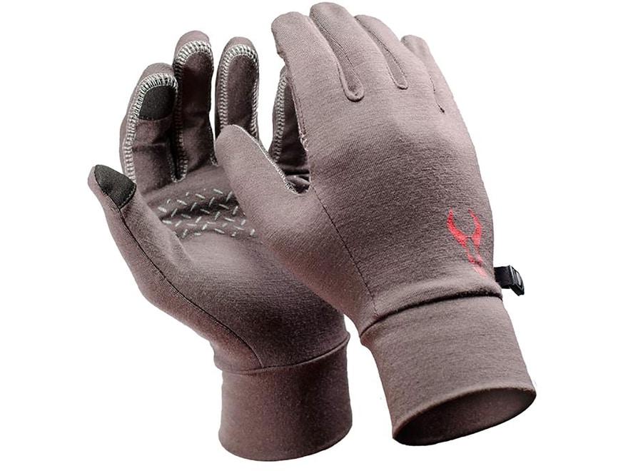 Badlands All-Season Liner Gloves Merino Wool Earth