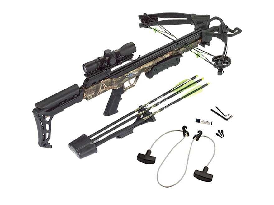 Carbon Express Blade Crossbow Package with 4x32 Deluxe Scope