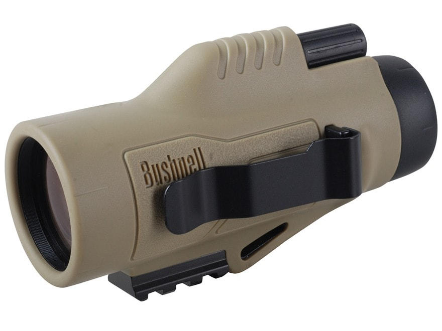 Bushnell Legend Ultra HD Tactical Monocular 10x 42mm Mil-Hash Reticle Tan