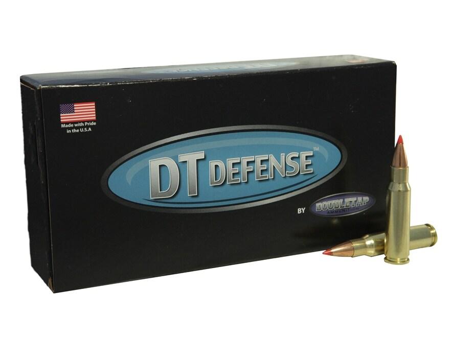 DoubleTap Ammunition 6.8mm Remington SPC 110 Grain Rifle Defense Box of 20
