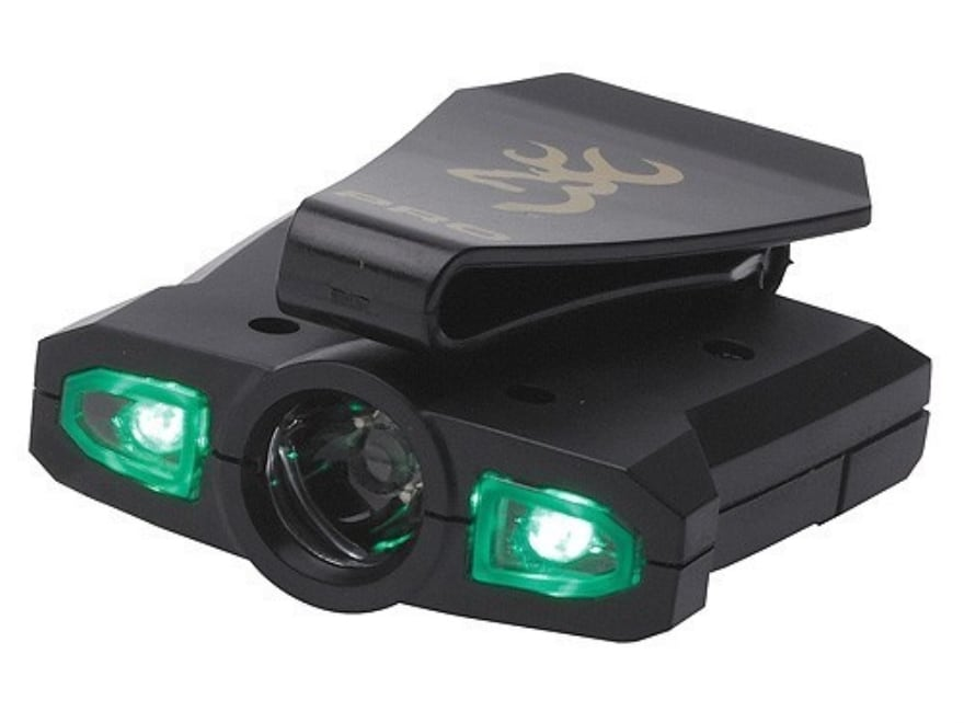 Browning Night Seeker Pro Cap Light LED with 1 AAA Battery Polymer Black