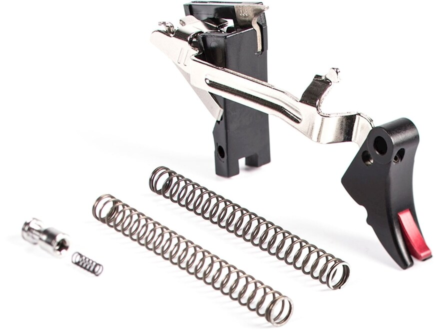 ZEV Technologies Fulcrum Drop-In Trigger Kit Glock 20, 29 (Not SF Frame) Aluminum Black...