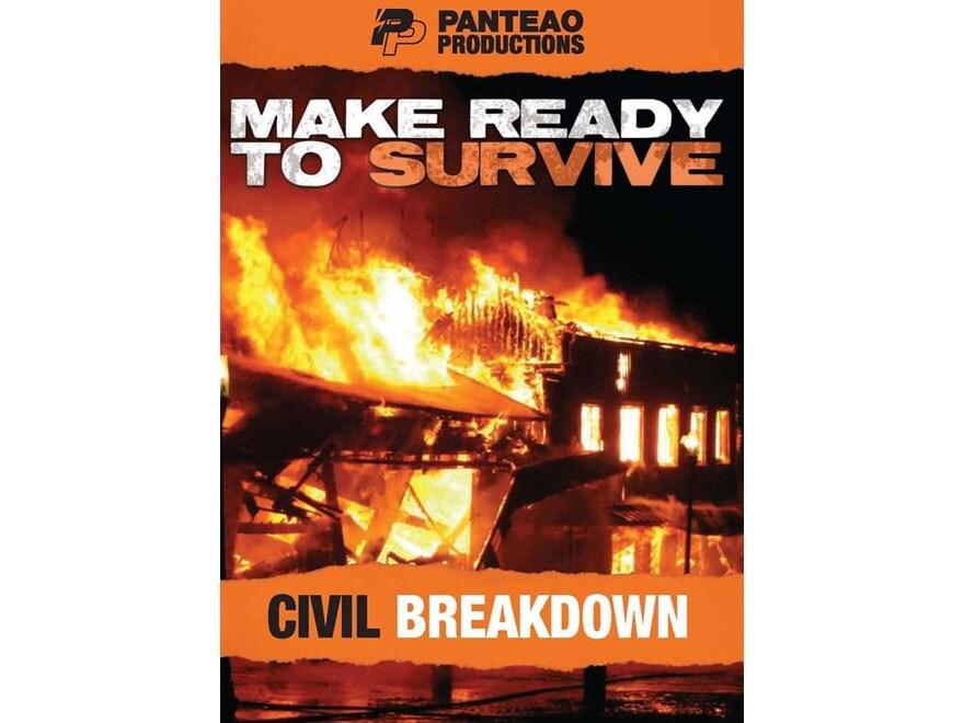 """Panteao """"Make Ready to Survive: Civil Breakdown"""" DVD"""
