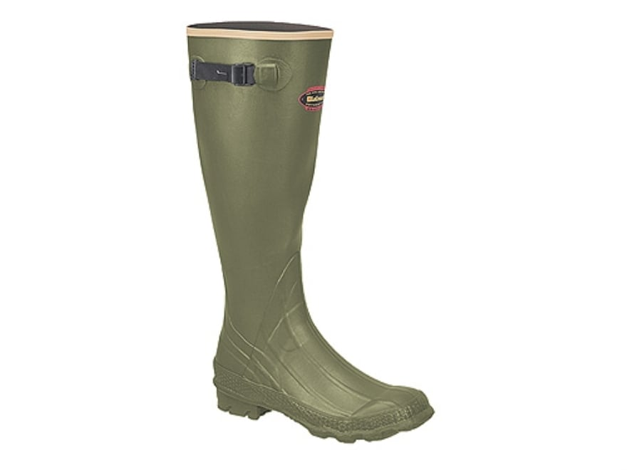"LaCrosse Grange 18"" Waterproof Hunting Boots Rubber OD Green Men's"