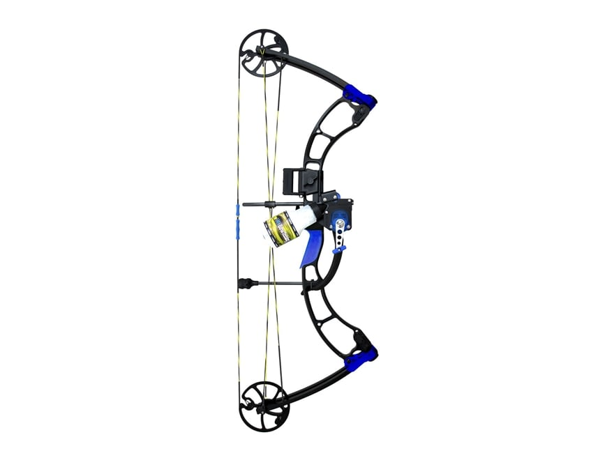 AMS Eradicator Bowfishing Bow Package with Retriever Pro Tournament Series Reel 30-60 l...