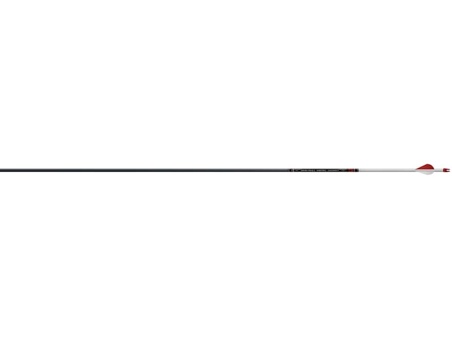"Easton Full Metal Jacket 6mm Carbon and Aluminum Arrow 2"" Blazer Vanes Black Pack of 6"