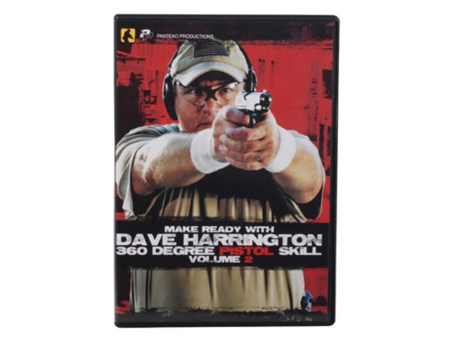 """Panteao """"Make Ready with Dave Harrington: 360 Degree Pistol Skill, Vol 2"""" DVD"""