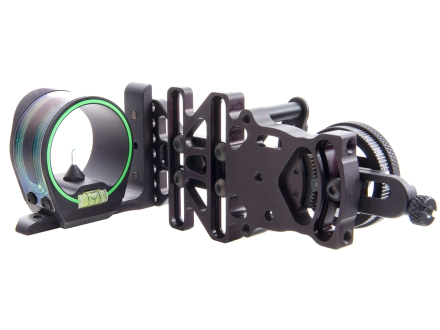 Trijicon AccuPin Accudial 1-Pin Bow Sight Aluminum Black