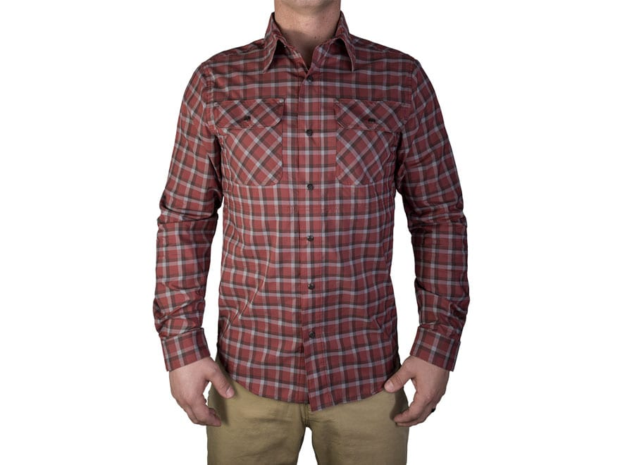 Vertx Men's Guardian Button-Up Shirt Long Sleeve 37.5 Polyester