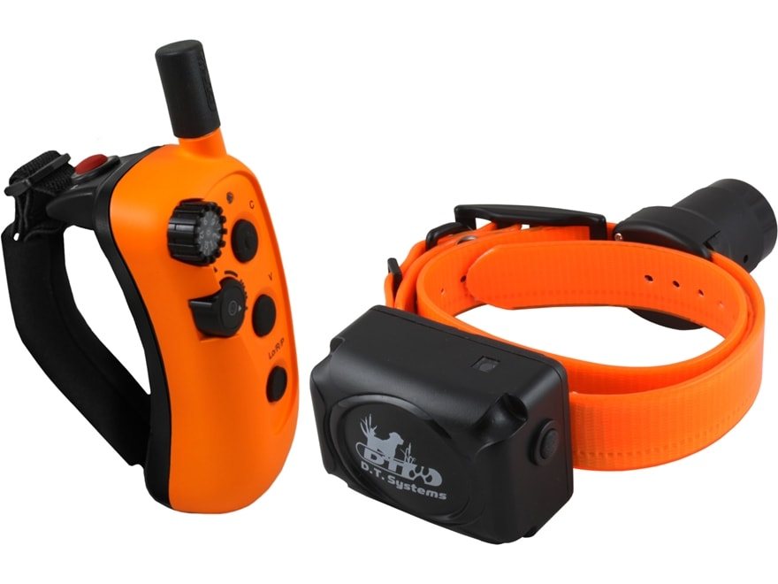 D.T. Systems The Rapid Access Pro Trainer 1450 Upland Electronic Dog Collar Combo Orange