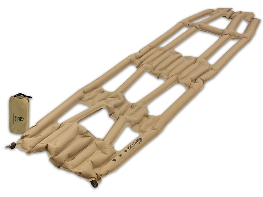 Klymit Inertia X Frame Recon Sleeping Pad Polyester Coyote and Sand