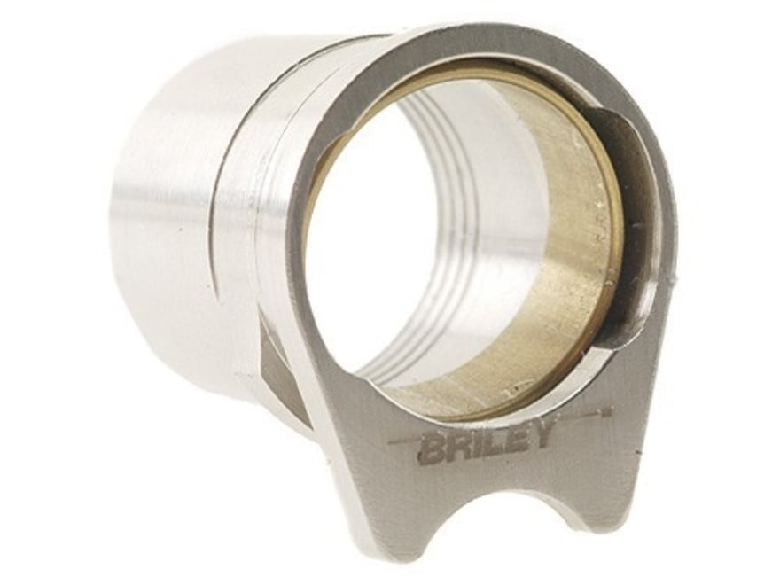 """Briley Oversized Spherical Barrel Bushing with .582"""" Ring 1911 Government Stainless Steel"""