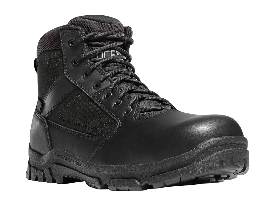"""Danner Lookout 5.5"""" Waterproof Side-Zip Non-Metallic Safety Toe Tactical Boots Leather/..."""