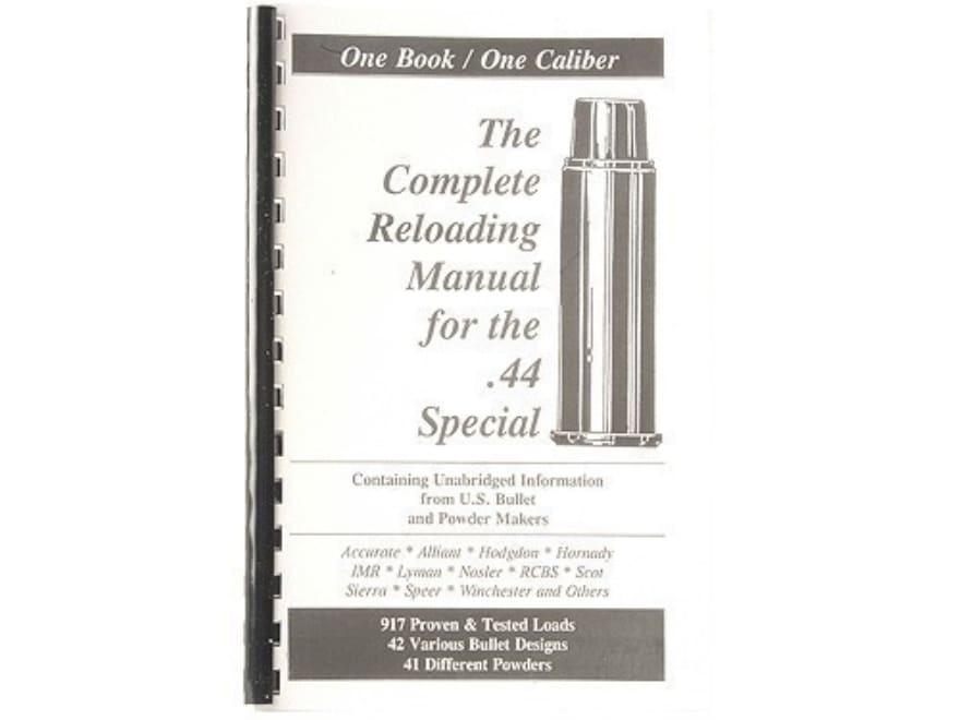 "Loadbooks USA ""44 Special"" Reloading Manual"
