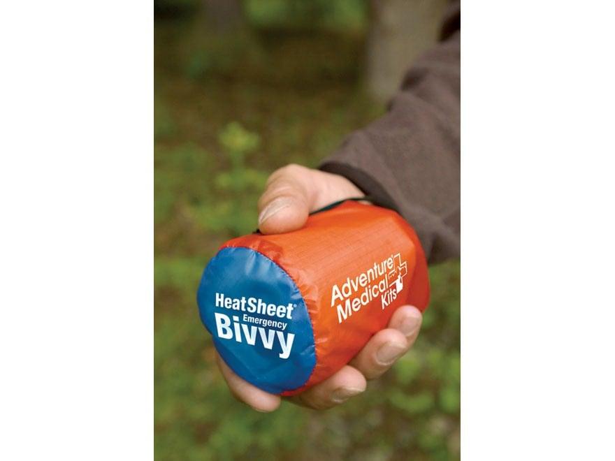 Adventure Medical Kits SOL Heatsheets Emergency Bivvy Sleeping Bag Orange