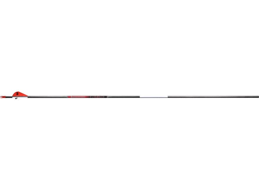 "Bloodsport Evidence Micro-Diameter Arrow 2"" Vanes Black Pack of 6"