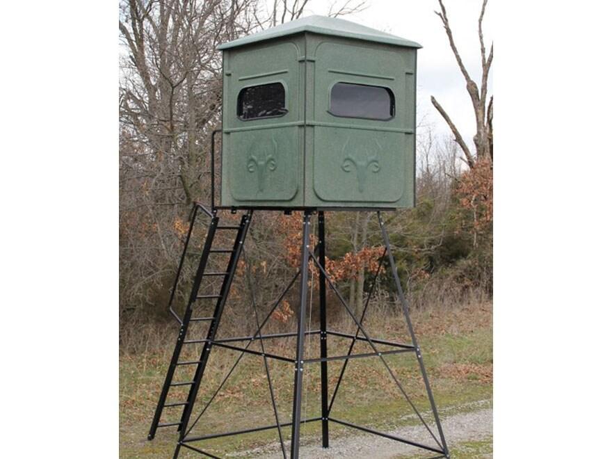 Redneck Blinds Trophy Tower Elevated Box Blind