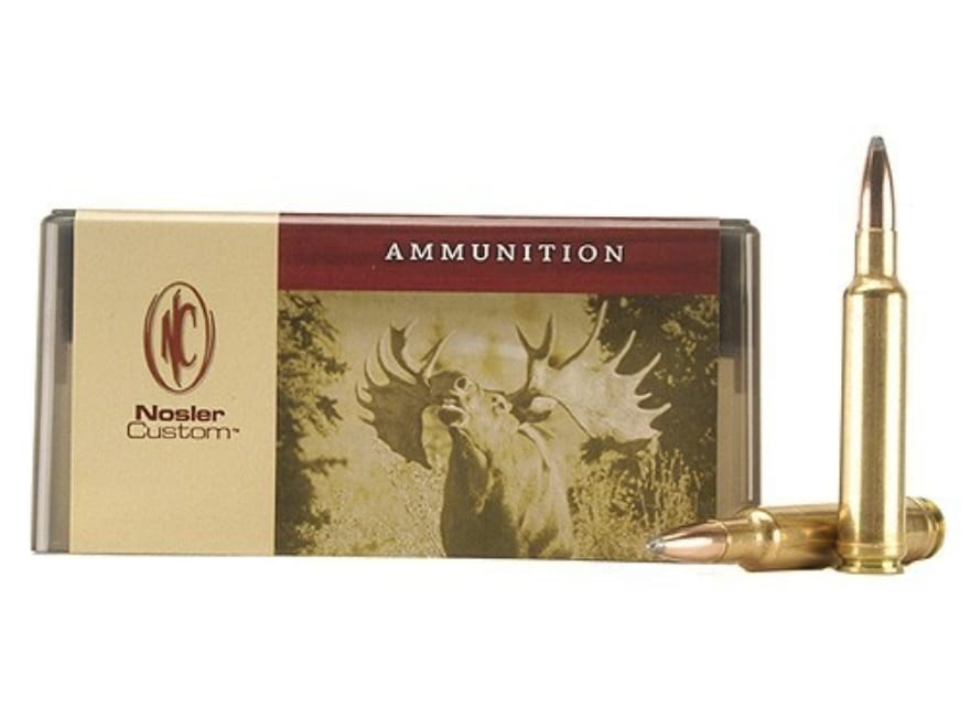 Nosler Custom Ammunition 338-378 Weatherby Magnum 250 Grain Partition Spitzer Box of 20