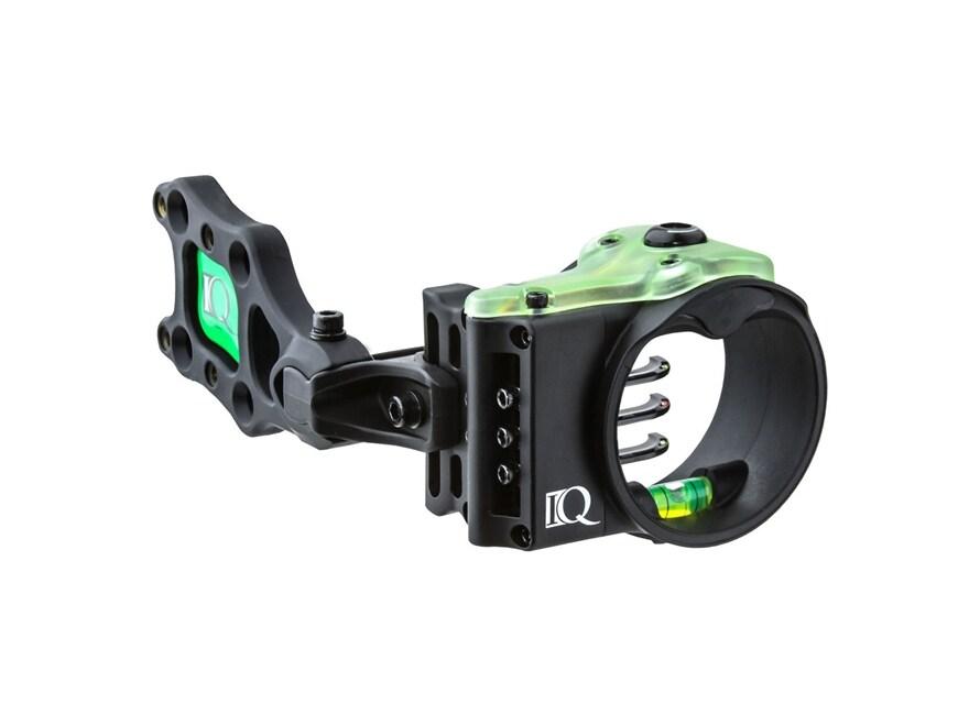 "IQ Ultra Lite Bow Sight with Retina Lock .019"" Pin Diameter Right Hand Black"