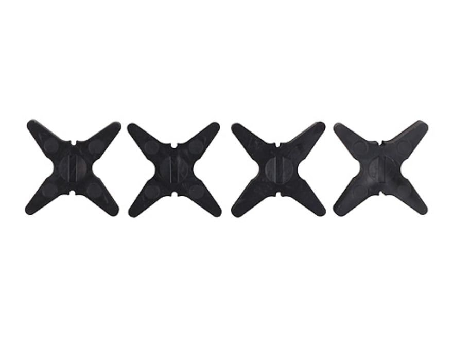 Bowjax Super Slip Jax Bow String Silencer Rubber Black pack of 4