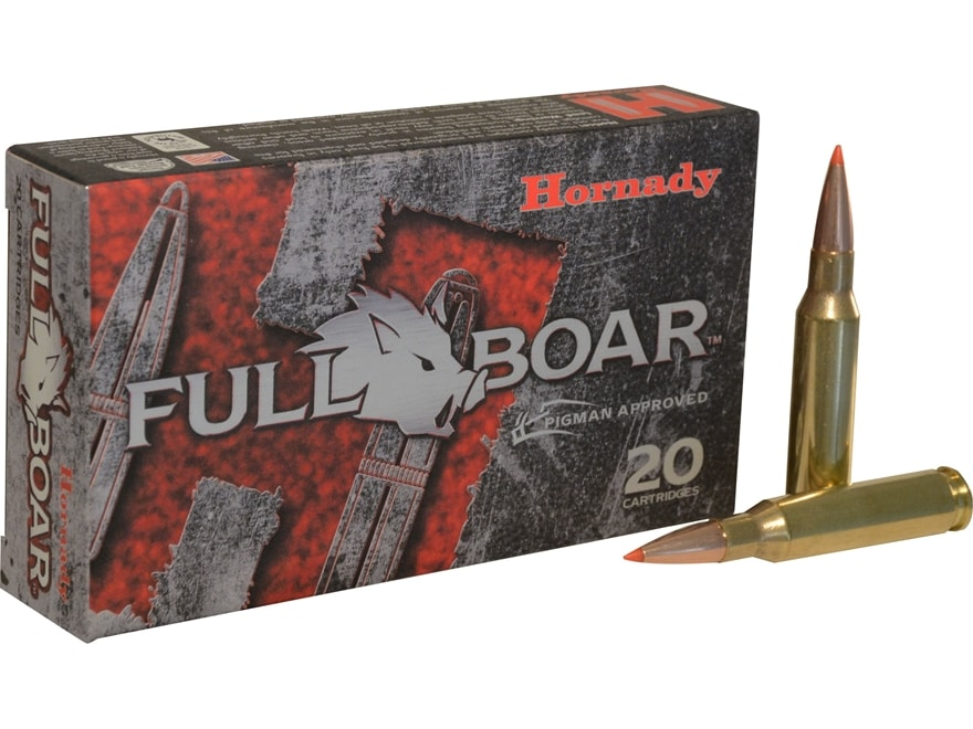 Hornady Full Boar Ammunition 7mm-08 Remington 139 Grain GMX Boat Tail Lead-Free Box of 20