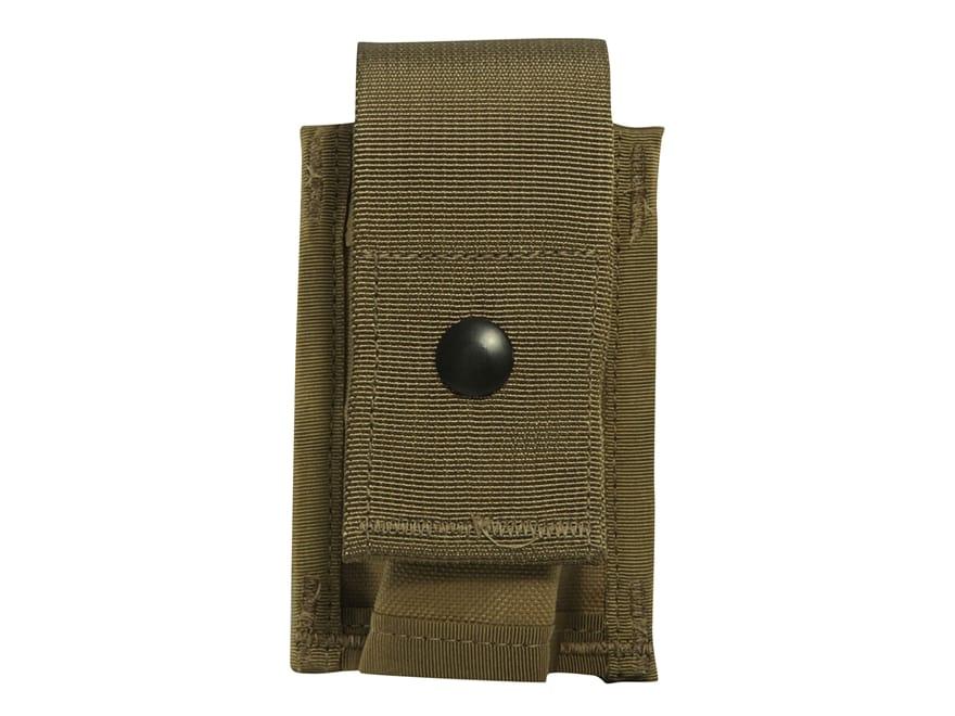 Military Surplus MOLLE II 40mm Grenade Pouch Single Nylon Coyote