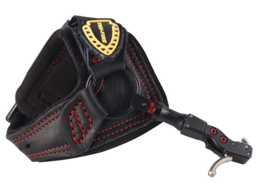 Tru-Fire Hardcore MAX Buckle Foldback Bow Release Buckle Wrist Strap Black