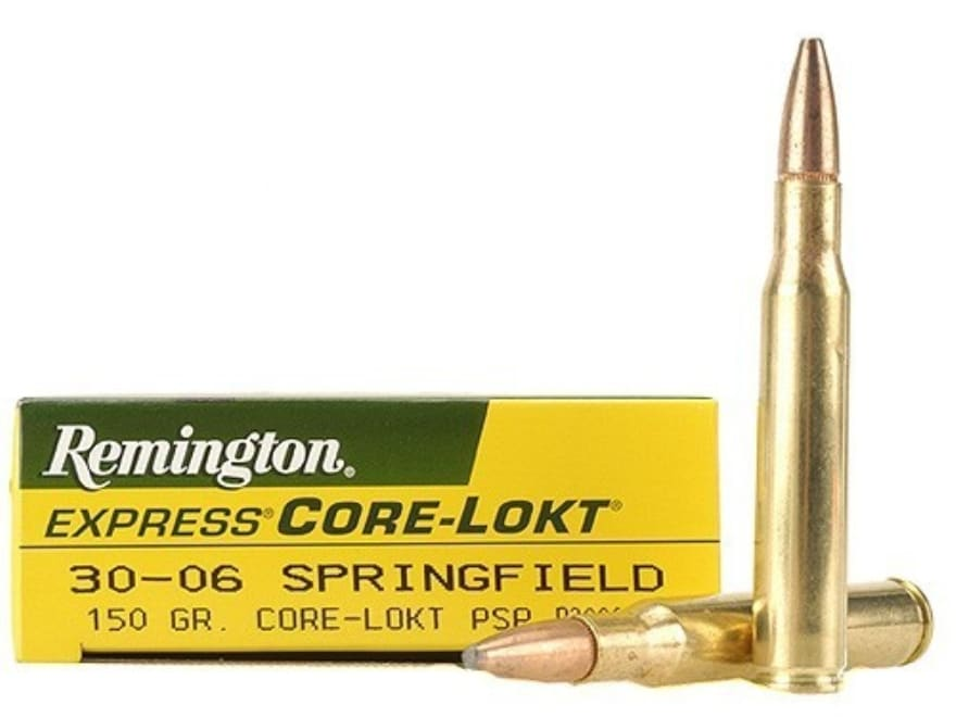 Remington Express Ammunition 30-06 Springfield 150 Grain Core-Lokt Pointed Soft Point B...