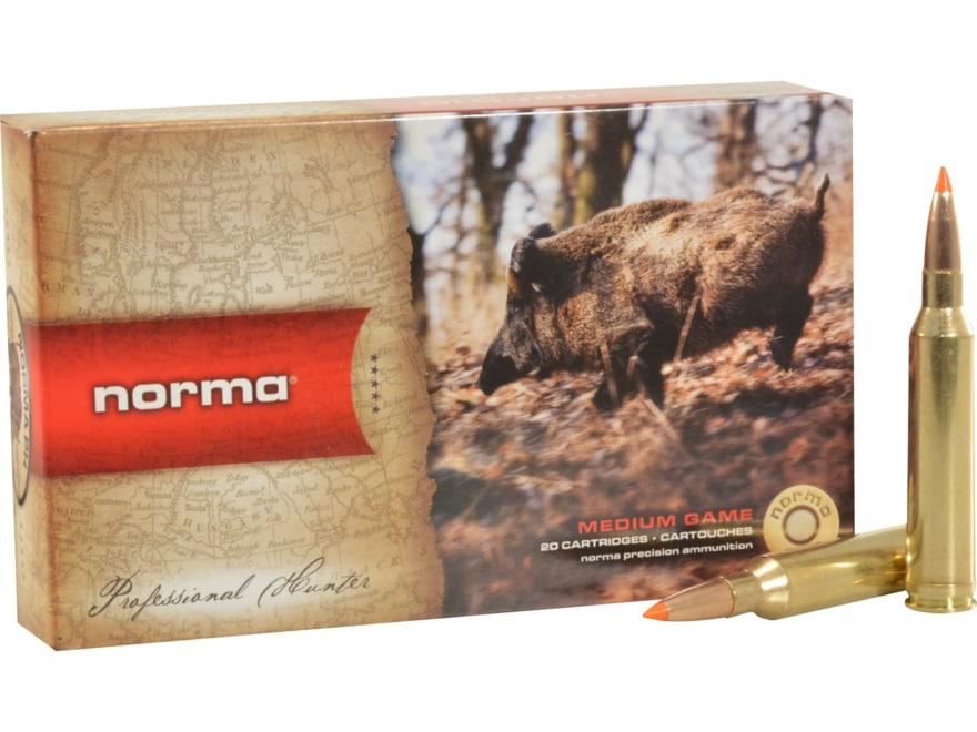 Norma USA TipStrike Ammunition 7mm Remington Magnum 160 Grain Polymer Tip Flat Base Box...