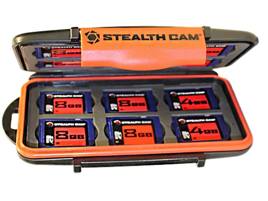 Stealth Cam SD Memory Card Storage Case Polymer Black