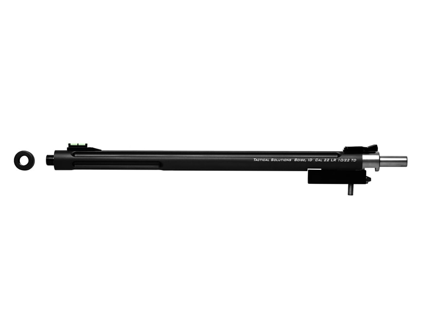 "Tactical Solutions X-Ring Barrel Ruger 10/22 Takedown 22 Long Rifle .920"" Diameter 1 in..."