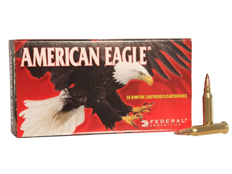 Federal American Eagle Ammunition 17 Winchester Super Magnum 20 Grain Tipped Varmint