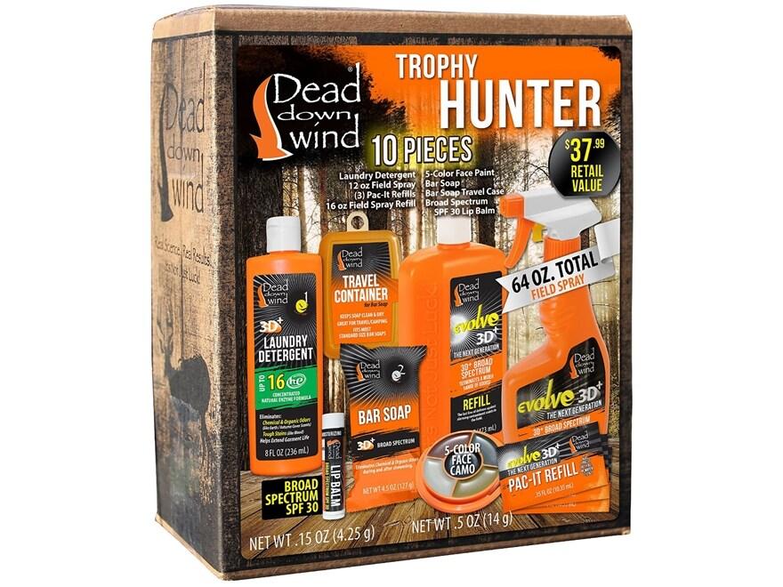 Dead Down Wind Trophy Hunter Scent Elimination Kit